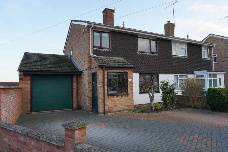 3 Bedrooms Semi Detached House for sale in SPINNEY HILL ROAD, OLNEY