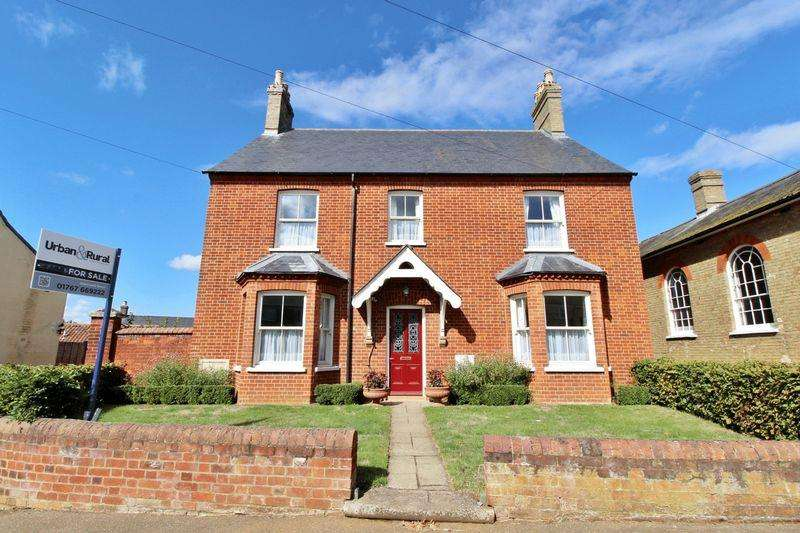 4 Bedrooms Detached House for sale in The Former Manse, Honey Hill, Gamlingay
