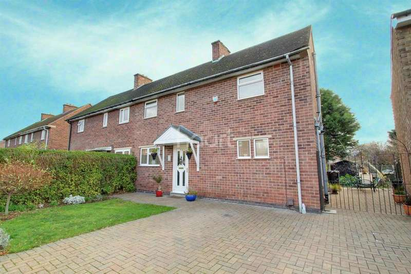 3 Bedrooms Semi Detached House for sale in Myrtle Avenue, Birstall, Leicester