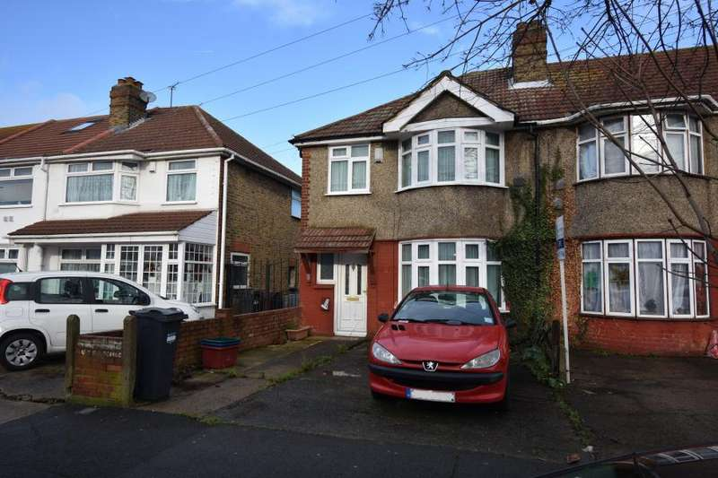 3 Bedrooms Semi Detached House for sale in Cranford, TW4