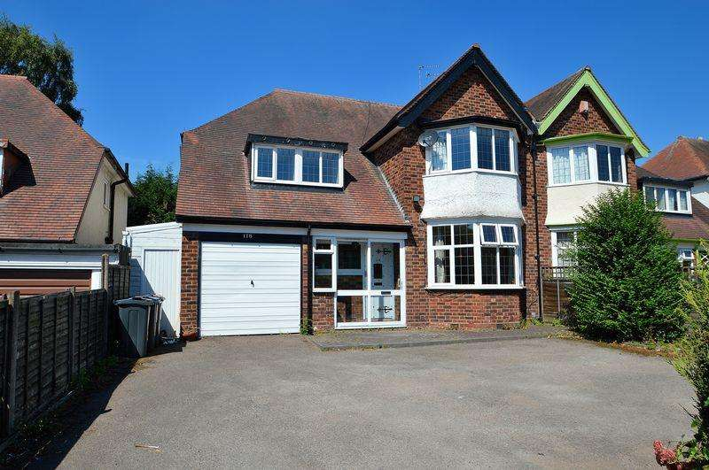 4 Bedrooms Semi Detached House for sale in Alcester Road South, Kings Heath, Birmingham, B14