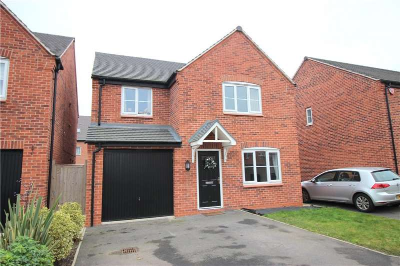 4 Bedrooms Detached House for sale in Kimbolton Way, Boulton Moor, Derby, Derbyshire, DE24