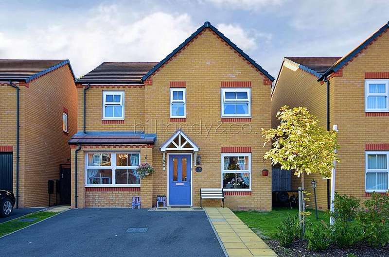 4 Bedrooms Detached House for sale in Sandpiper Close, Brownhills, Walsall, WS8