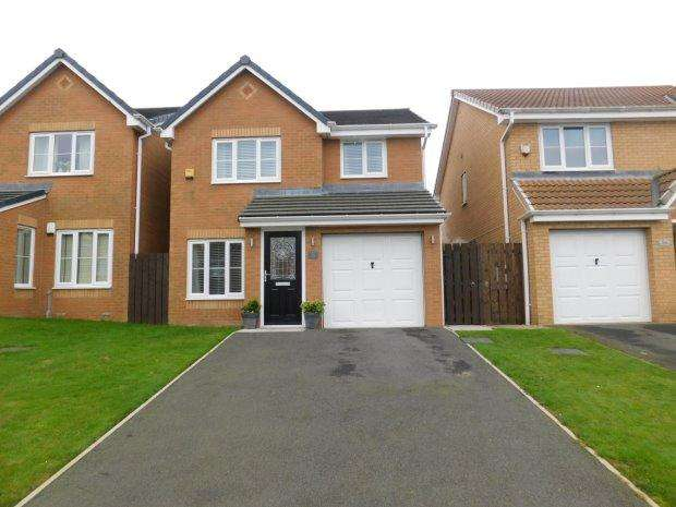 3 Bedrooms Detached House for sale in CINNAMON DRIVE, TRIMDON STATION, SEDGEFIELD DISTRICT