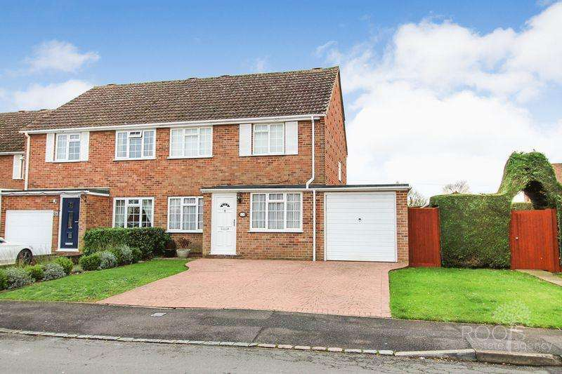 3 Bedrooms End Of Terrace House for sale in Meadow Close, Thatcham
