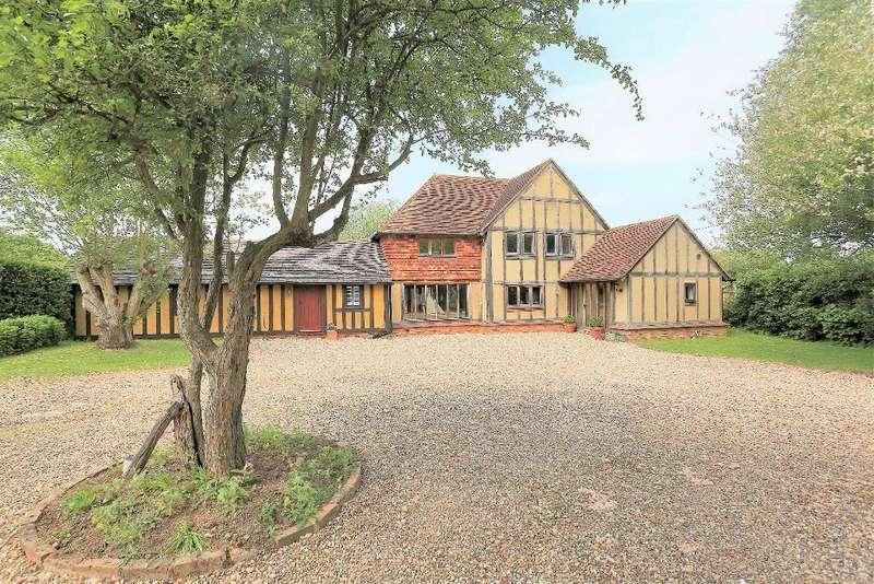 5 Bedrooms Detached House for sale in Pluckley Road, Bethersden, Kent, TN26 3ET