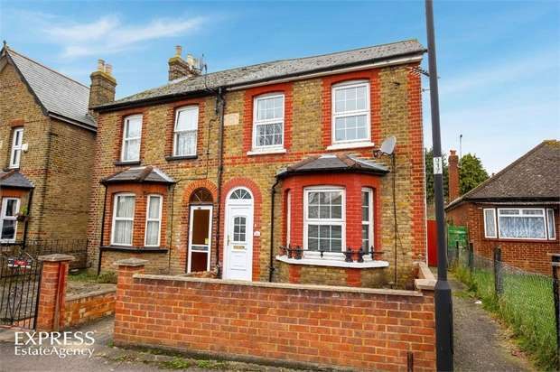 3 Bedrooms Semi Detached House for sale in Chalvey Grove, Slough, Berkshire
