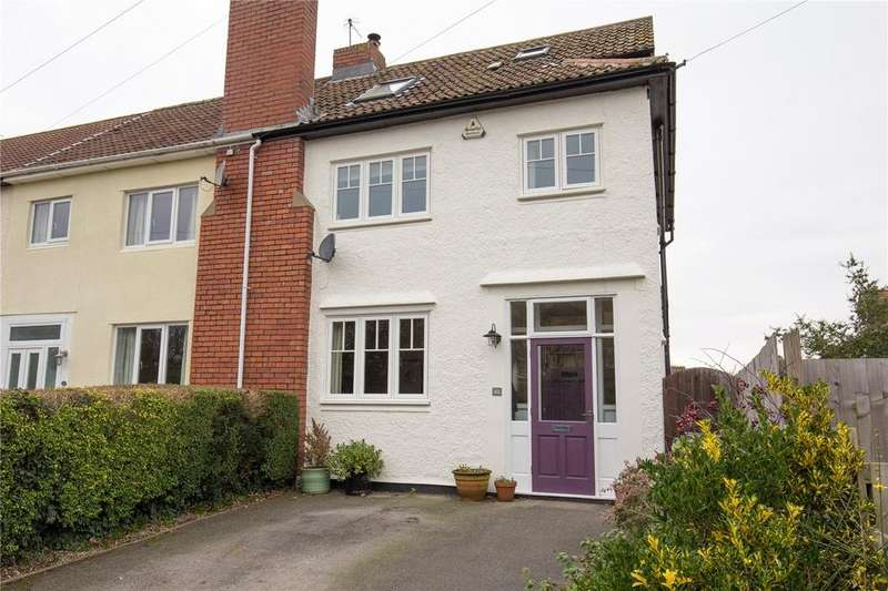 4 Bedrooms End Of Terrace House for sale in Dorset Road, Henleaze, Bristol, BS9