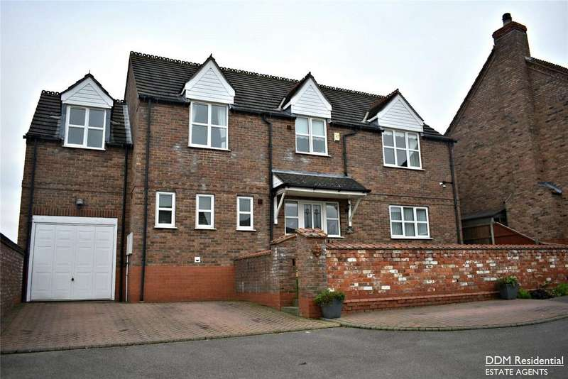 4 Bedrooms Detached House for sale in Windmill Way, Kirton In Lindsey, Lincolnshire, DN21