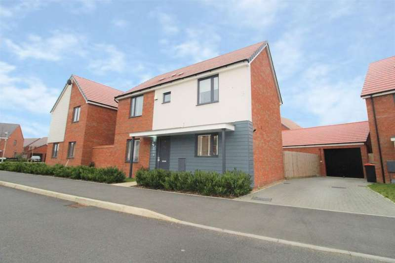 3 Bedrooms Detached House for sale in Ashpole Avenue, Wootton, MK43