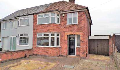 3 Bedrooms Semi Detached House for sale in Castleton Road, Wigston Fields, Leicestershire