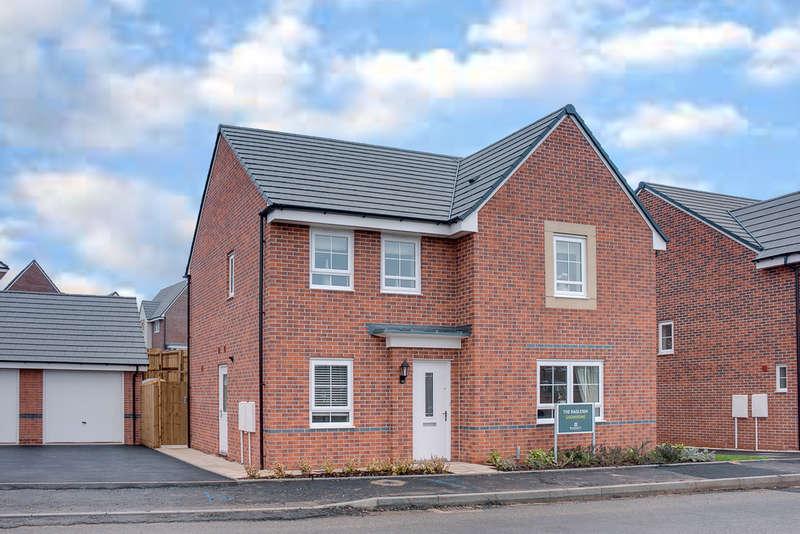 4 Bedrooms Detached House for sale in Plot 183, Radleigh, Norton Farm, Birmingham Road, Bromsgrove, B61 0EP