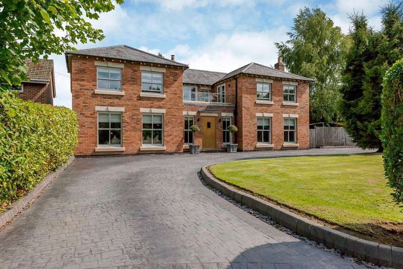 5 Bedrooms Detached House for sale in St. Mary's Close, Newton Solney, Burton-On-Trent, Derbyshire