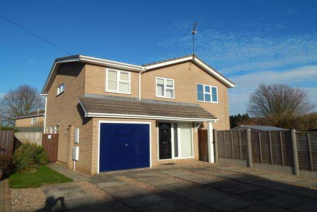 4 Bedrooms Detached House for sale in Peldon Drive, Wisbech, PE13