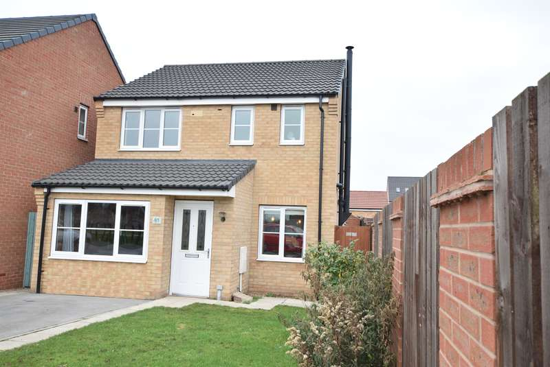3 Bedrooms Detached House for sale in Dunlin Drive, Scunthorpe, DN16 3UZ