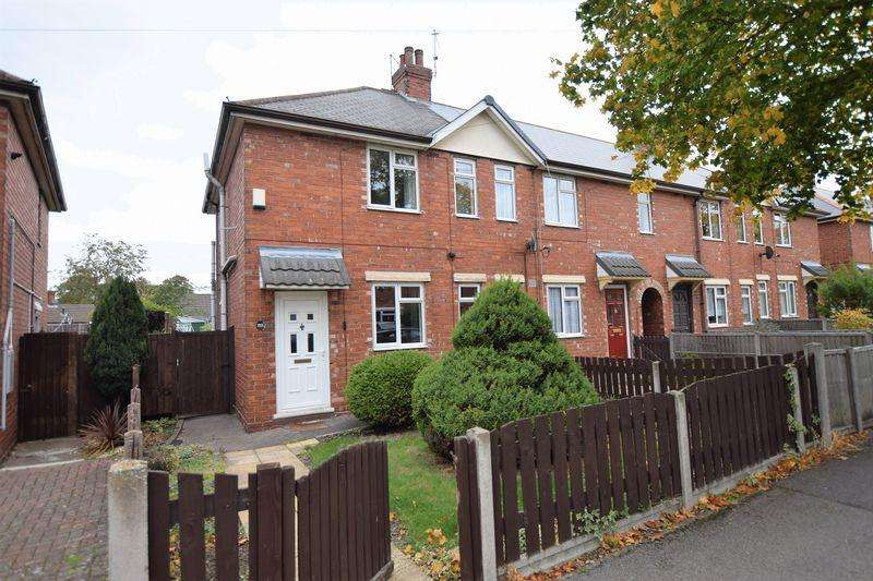 2 Bedrooms End Of Terrace House for sale in St Peters Avenue, Lincoln