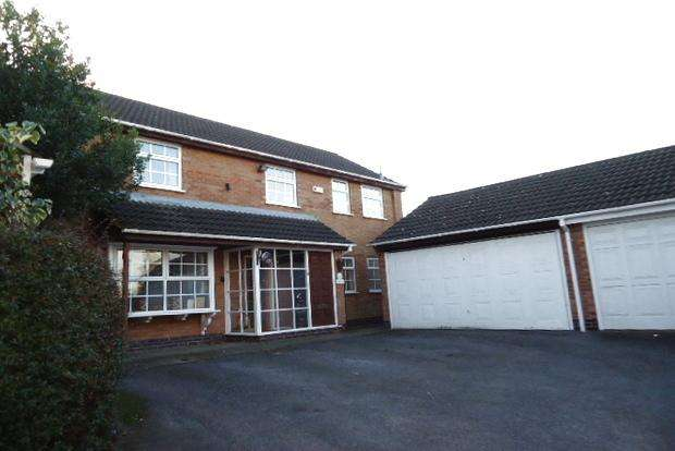 4 Bedrooms Detached House for sale in Vincent Close, Western Park, Leicester, LE3