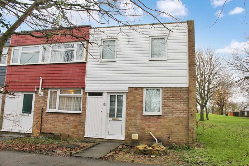 3 Bedrooms End Of Terrace House for sale in Garrowmore Grove, Bletchley, Milton Keynes MK2