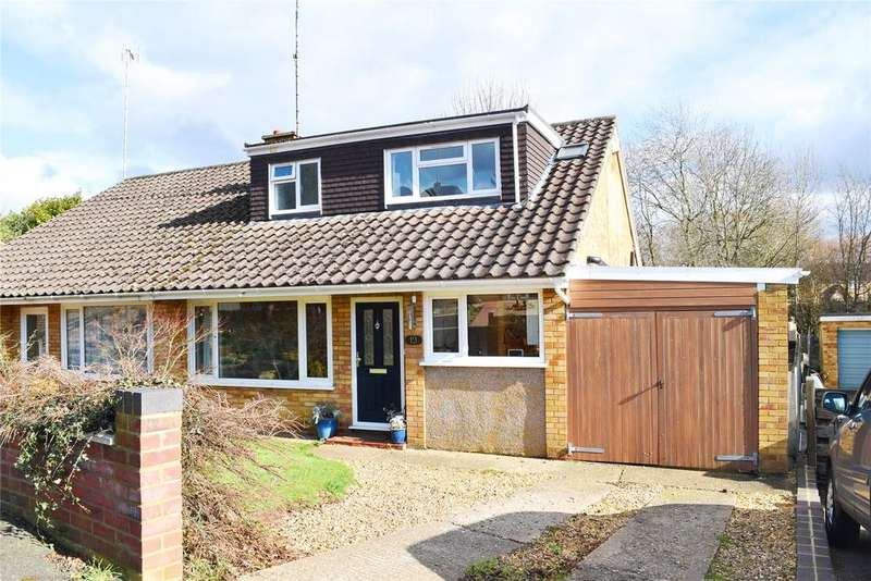 4 Bedrooms Semi Detached House for sale in The Paddocks, Linslade