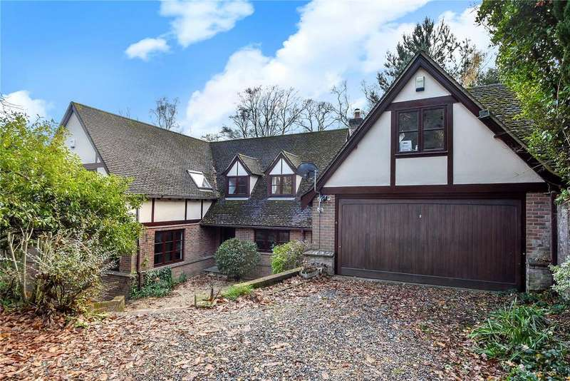 5 Bedrooms Detached House for sale in Hocombe Drive, Hiltingbury, Hampshire, SO53