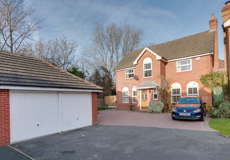 4 Bedrooms Detached House for sale in Pipers Close, The Forelands, Bromsgrove, B61 7HG