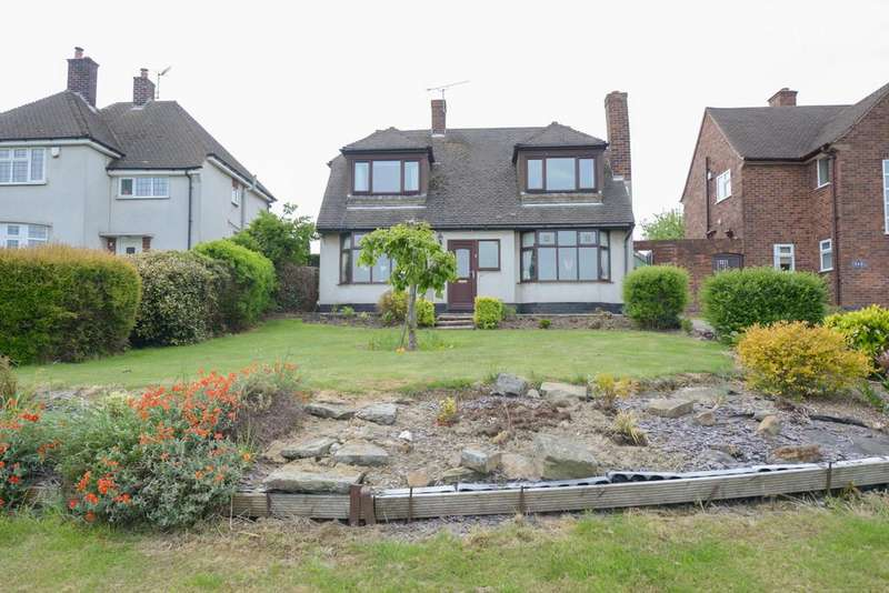 3 Bedrooms Detached Bungalow for sale in Mansfield Road, Hasland, Chesterfield