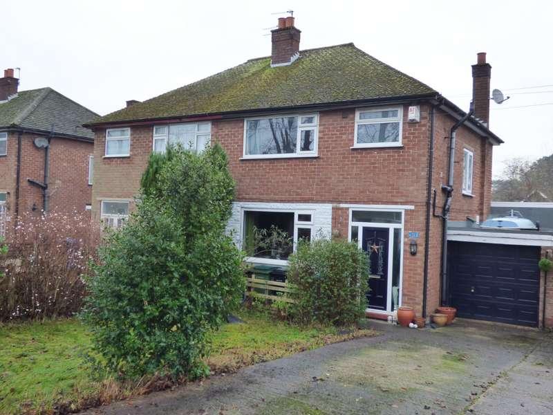 3 Bedrooms Semi Detached House for sale in Berkeley Road, Hazel Grove, Stockport, SK7 4NX