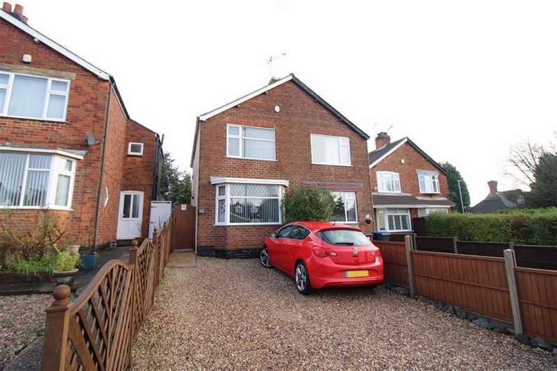3 Bedrooms Semi Detached House for sale in Markfield Road, Groby