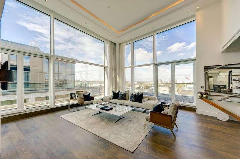 3 Bedrooms Penthouse Flat for sale in Kensington High Street, London, W14