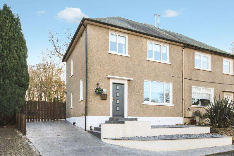 3 Bedrooms Semi Detached House for sale in 24 Miller Crescent, Muirhouses, Bo'ness