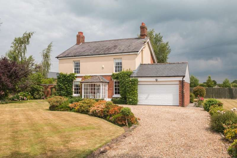 4 Bedrooms Detached House for sale in Mill Lane, Kingsley