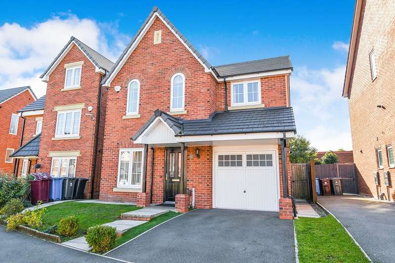 4 Bedrooms Detached House for sale in Sandfield Crescent, Whiston, Prescot, L35