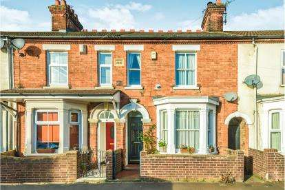 3 Bedrooms Terraced House for sale in Granville Street, Bedford, Bedfordshire