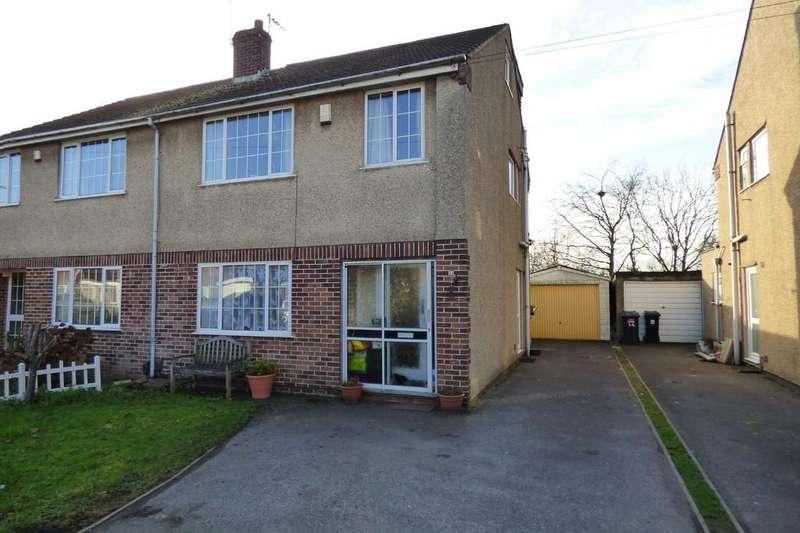 4 Bedrooms Semi Detached House for sale in Parkside Avenue, Winterbourne, BRISTOL, Gloucestershire