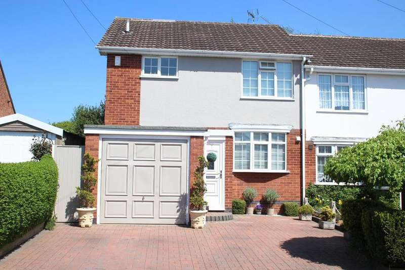 3 Bedrooms Semi Detached House for sale in Trevor Road, Hinckley
