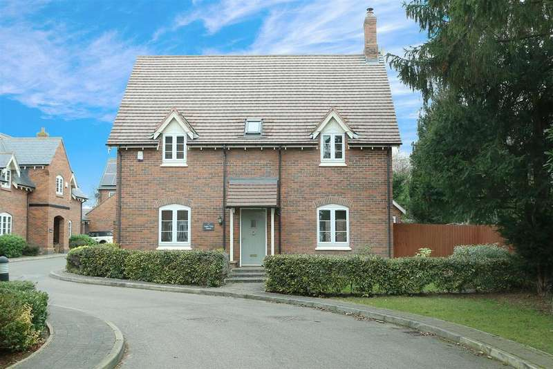 4 Bedrooms Detached House for sale in Hill Top Close, Market Harborough