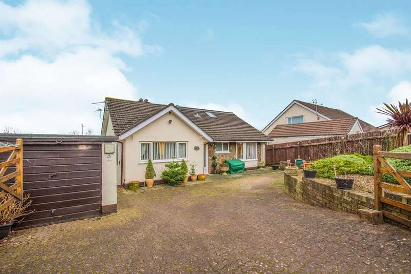 4 Bedrooms Detached Bungalow for sale in Crown Rise, Llanfrechfa, Cwmbran