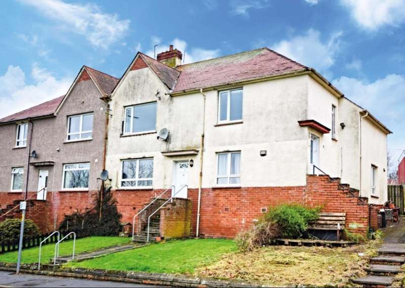 3 Bedrooms Apartment Flat for sale in Glebe Crescent, Maybole, South Ayrshire, KA19 7HZ