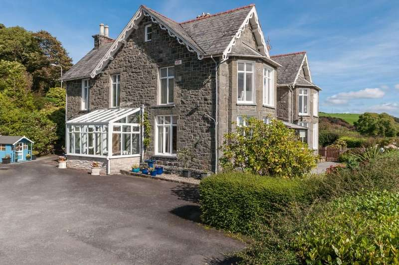 6 Bedrooms Detached House for sale in Lon Ednyfed, Criccieth, North Wales
