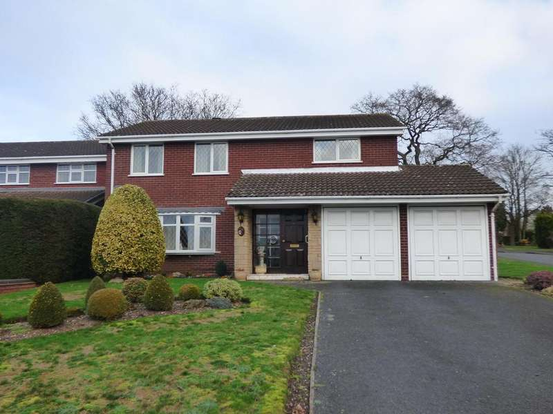 4 Bedrooms Detached House for sale in 16 Holder Drive, Cannock, WS11 1TL