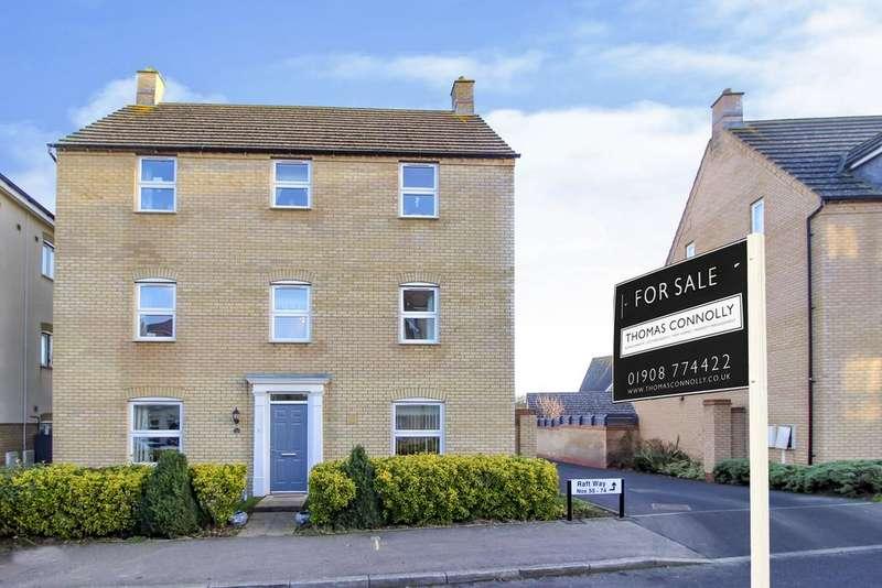 6 Bedrooms Detached House for sale in Fonda Meadows , Oxley Park, Milton Keynes MK4