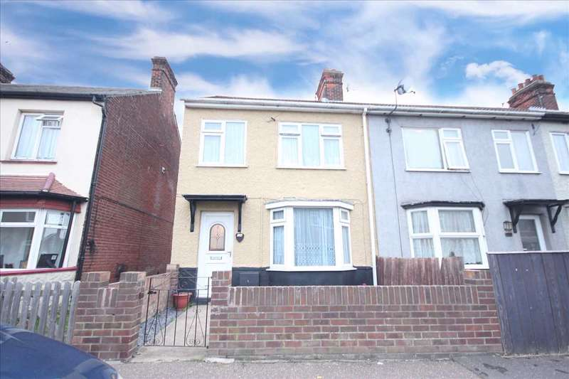 3 Bedrooms End Of Terrace House for sale in Clarkes Road, Harwich