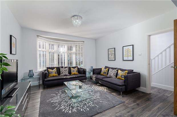 4 Bedrooms Terraced House for sale in Camborne Road, SM4 4JL