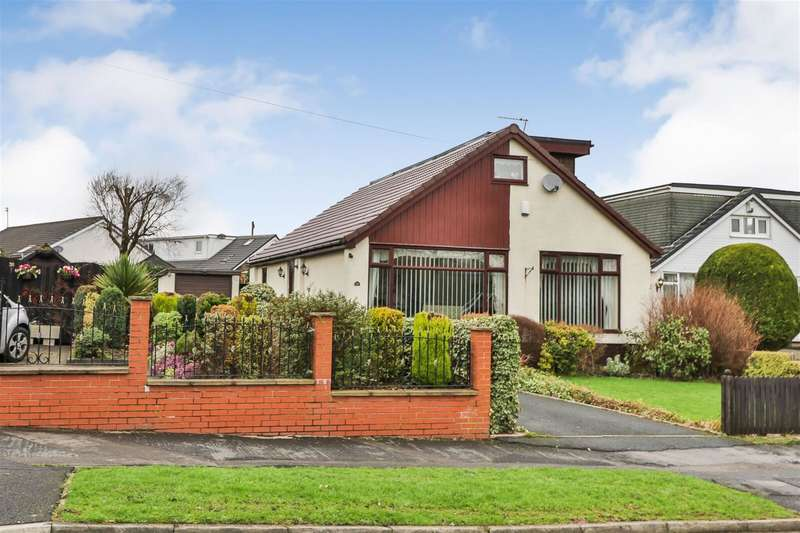 3 Bedrooms Detached Bungalow for sale in Milbury Drive, Hollingworth Lake, OL15 0BZ