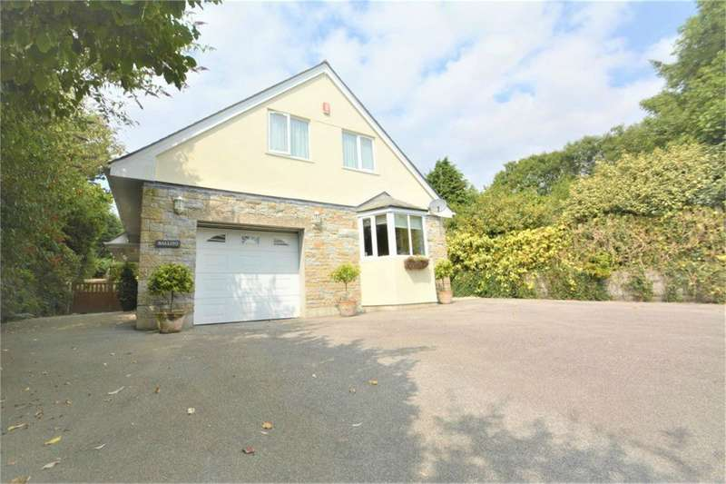 4 Bedrooms Detached House for sale in Castle View Park, Mawnan Smith, FALMOUTH, Cornwall