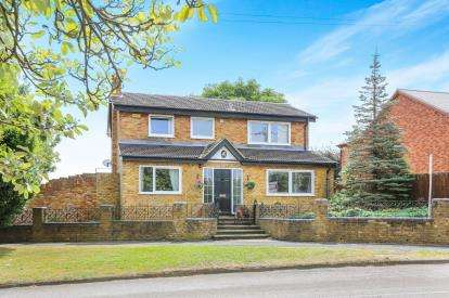 4 Bedrooms Detached House for sale in Newbury Lane, Silsoe, Bedford, Bedfordshire