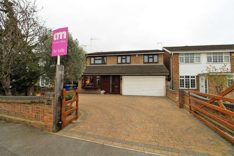 4 Bedrooms Detached House for sale in Rushley Close, North Grays