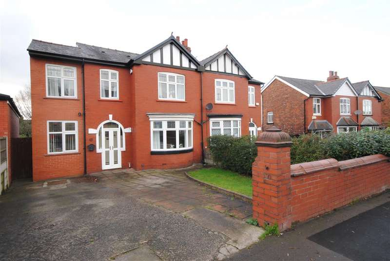4 Bedrooms Semi Detached House for sale in Whitley Crescent, Whitley, Wigan.
