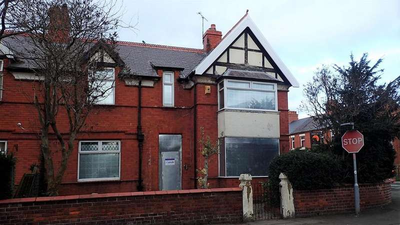 6 Bedrooms End Of Terrace House for sale in Bersham Road, Wrexham