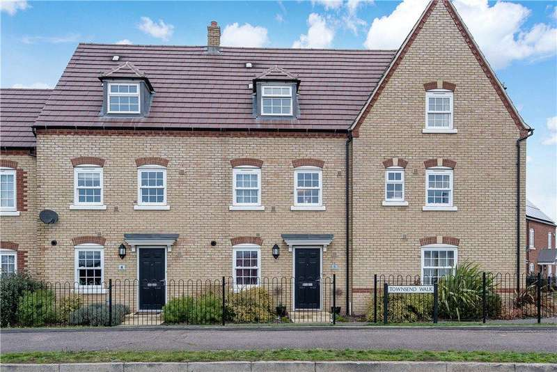 4 Bedrooms Terraced House for sale in Townsend Walk, Kempston, Bedford, Bedfordshire